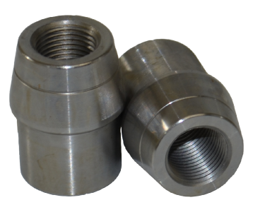 1-1/8 x .065 x 1/2-20 Right Hand 4130 Tube Adapter