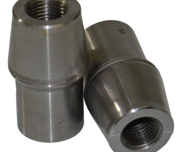 1 X .095 X 3/8-24 Right Hand 4130 Tube Adapter