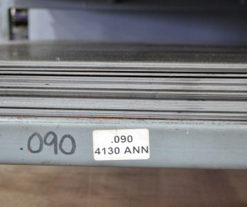 4130 Chrome Moly Sheet Annealed