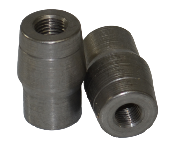 7/8 x .065 x 3/8-24 Left Hand 4130 Tube Adapter