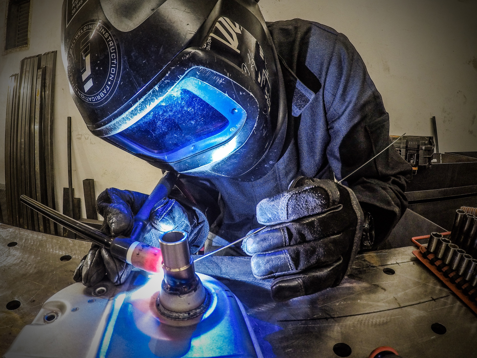Tig Welding Small