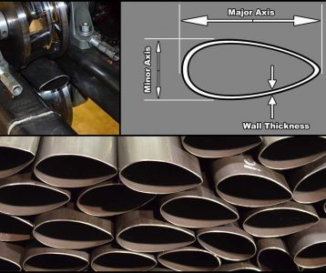 High Performance Streamline and Oval Tubing