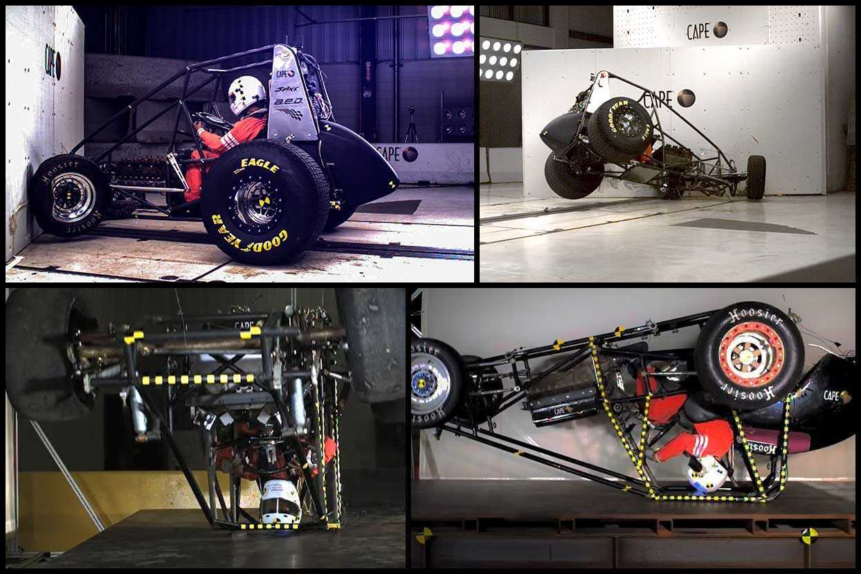 Crash Test Collage