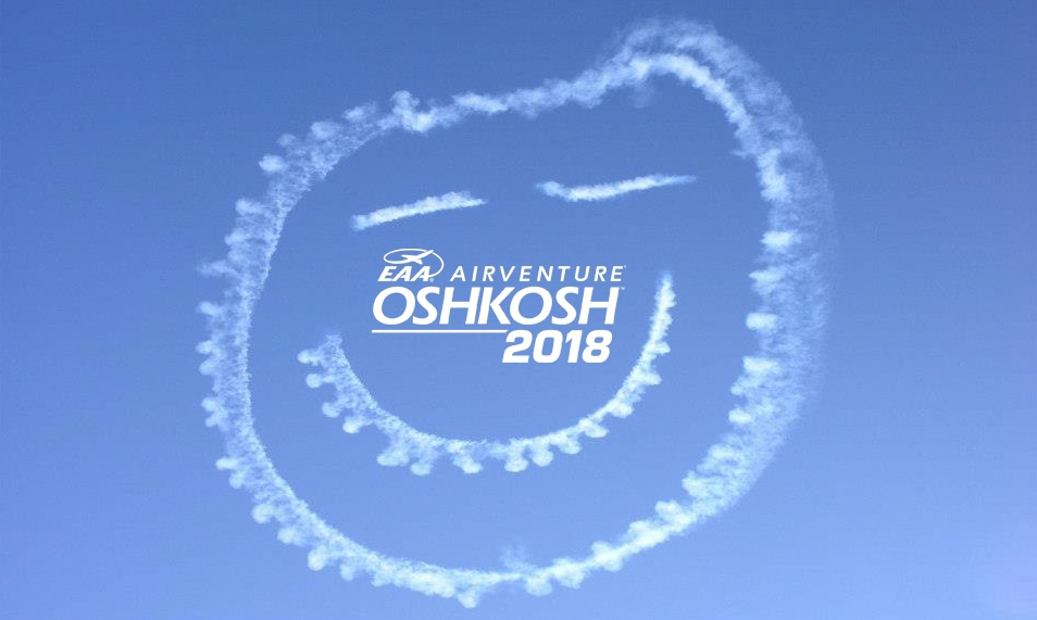 Eaa Airventure 2018 Smiley Face